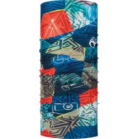 Buff Coolnet UV+ - Pañuelos & Co para el cuello Niños - rojo/azul